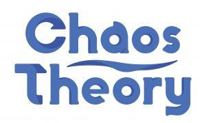 Chaos Theory logo corflute 250x150