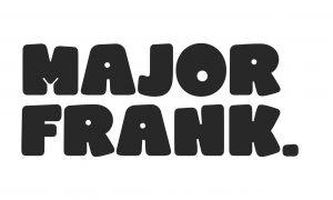 Major Frank logo corflute 250x150